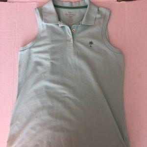 Brand New Lilly Pulitzer sleeveless polo shirt.